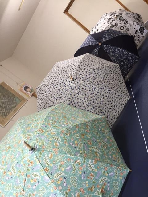 手作り日傘