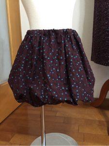 子供用バルーンスカート